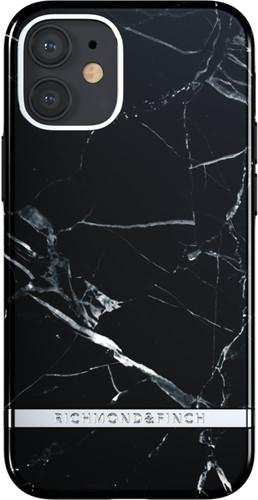 Richmond & Finch Black Marble Apple iPhone 12 mini Back Cover Main Image