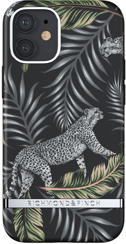 Richmond & Finch Silver Jungle Apple iPhone 12 mini Back Cover Main Image