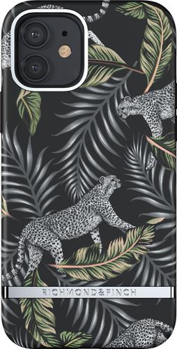 Richmond & Finch Silver Jungle Apple iPhone 12 / 12 Pro Back Cover Main Image