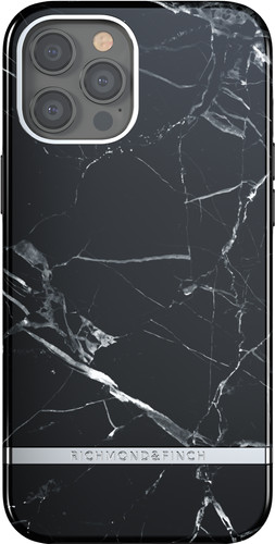 Richmond & Finch Black Marble Apple iPhone 12 Pro Max Back Cover Main Image