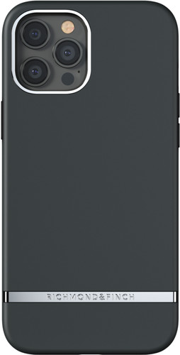 Richmond & Finch Black Out Apple iPhone 12 Pro Max Back Cover Main Image