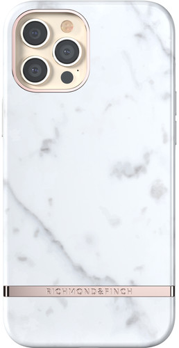 Richmond & Finch White Marble Apple iPhone 12 Pro Max Back Cover Main Image