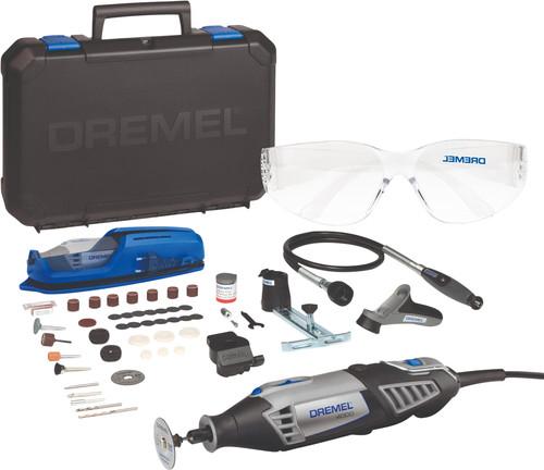 Dremel 4000 + 65-delige accessoireset + Dremel veiligheidsset Main Image