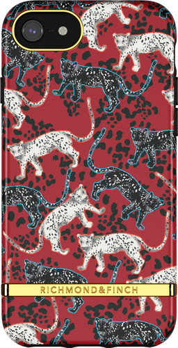 Richmond & Finch Samba Red Leopard Apple iPhone 6s / 6 / 7 / 8 / SE Back Cover Main Image