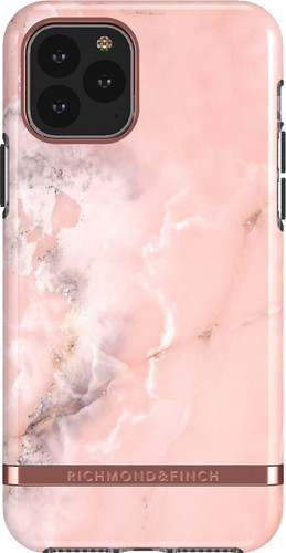 Richmond & Finch Pink Marble Apple iPhone 11 Back Cover Main Image