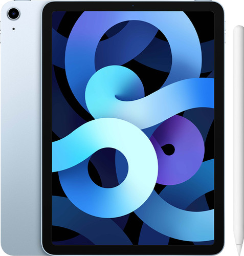 Apple iPad Air (2020) 10.9 inch 256GB Wifi Hemelsblauw + Apple Pencil 2 Main Image