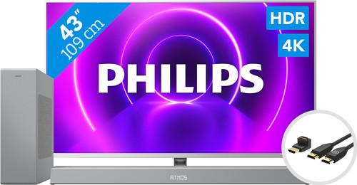 Philips 43PUS8505 - Ambilight (2020) + Soundbar + HDMI Cable Main Image