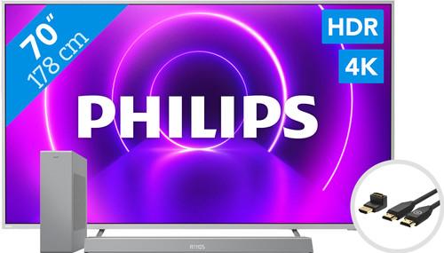 Philips 70PUS8505 - Ambilight (2020) + Soundbar + HDMI kabel Main Image