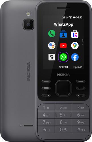 Nokia 6300 4G Grijs Main Image