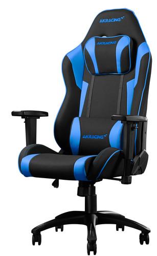 AKRacing Core EX SE Gaming Stoel Zwart/Blauw Main Image