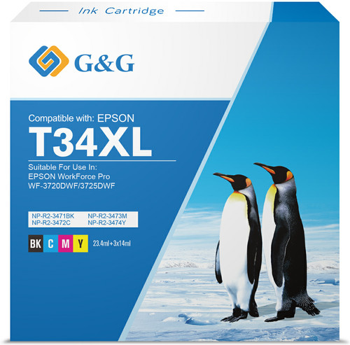 G&G 34XL Cartridges Combo Pack Main Image