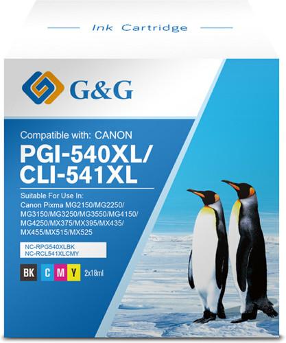 G&G 540XL/541XL Cartridges Combo Pack Main Image