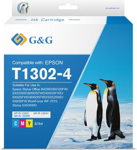 G&G T1306XL Cartridges Combo Pack Main Image