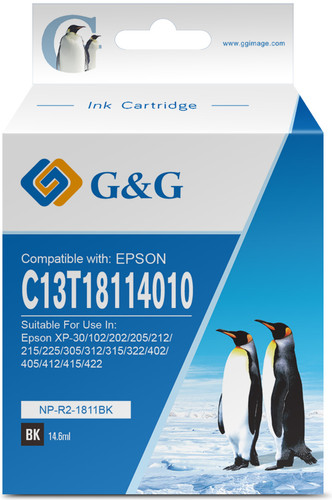 G&G 18XL Cartridge Black Main Image