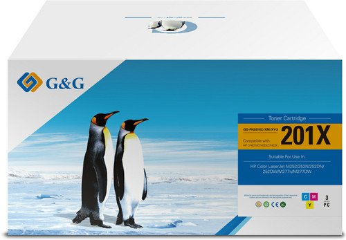 G&G 201X Toners Combo Pack (Hoge Capaciteit) Main Image