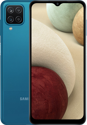 Samsung Galaxy A12 32GB Blauw Main Image
