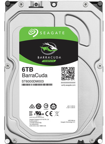 Seagate Barracuda ST6000DM003 6TB Main Image