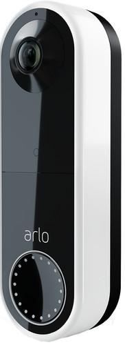 Arlo Wire Free Video Doorbell White Main Image