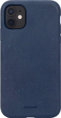 BlueBuilt Biologisch Afbreekbare Apple iPhone 11 Back Cover Blauw Main Image