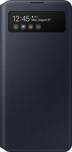 Samsung Galaxy A51 S View Book Case Zwart Main Image