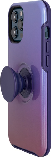 OtterBox Otter + Pop Symmetry Apple iPhone 12 Pro Max Back Cover Purple Main Image