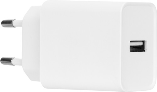 Azuri Charger with USB-A Port 12W White Main Image