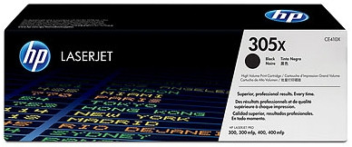 HP 305X LaserJet Toner Black (CE410X) Main Image