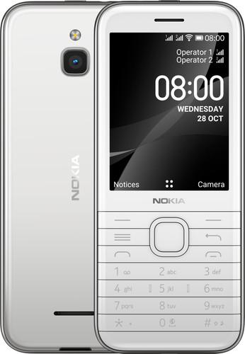 Nokia 8000 Wit 4G Main Image