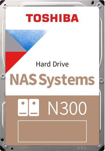 Toshiba N300 NAS Hard Drive 8TB (256MB) Main Image