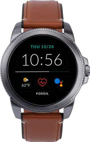 Fossil Gen 5E Display FTW4055 Gray/Brown 44mm Main Image