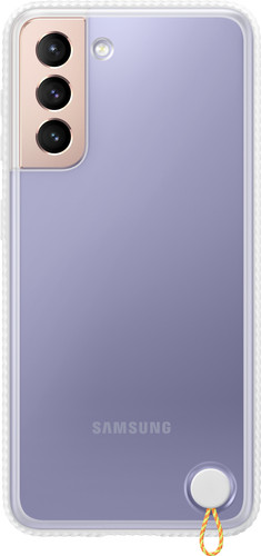 Samsung Galaxy S21 Clear Protective Back Cover Wit Main Image