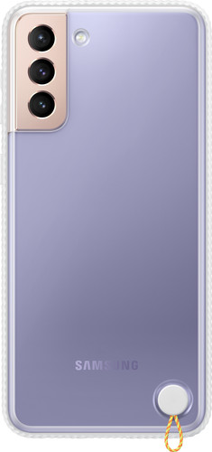 Samsung Galaxy S21 Plus Clear Protective Back Cover Wit Main Image