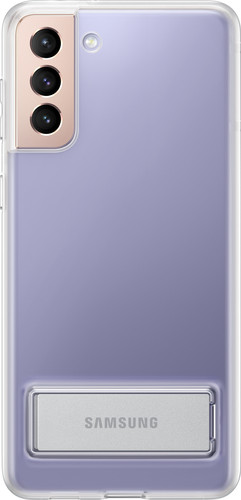 Samsung Galaxy S21 Plus Clear Standing Back Cover Transparant Main Image