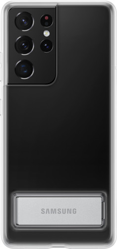 Samsung Galaxy S21 Ultra Clear Standing Back Cover Transparant Main Image