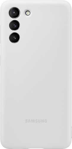 Samsung Galaxy S21 Siliconen Back Cover Grijs Main Image