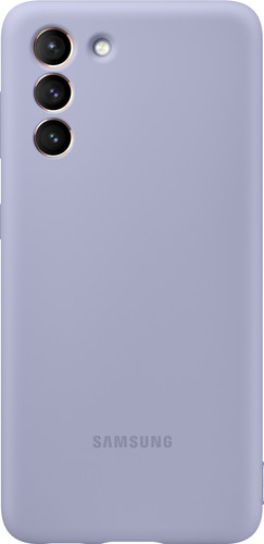 Samsung Galaxy S21 Silicone Back Cover Purple Main Image