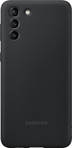Samsung Galaxy S21 Plus Siliconen Back Cover Zwart Main Image