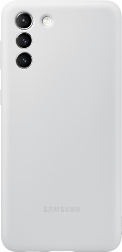 Samsung Galaxy S21 Plus Siliconen Back Cover Grijs Main Image