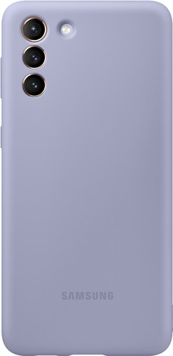 Samsung Galaxy S21 Plus Siliconen Back Cover Paars Main Image