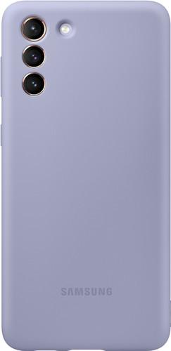 Samsung Galaxy S21 Plus Silicone Back Cover Purple Main Image