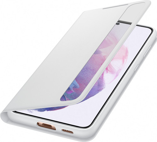 Samsung Galaxy S21 Plus Clear View Book Case Grijs Main Image