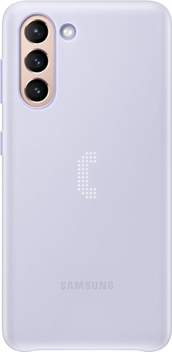Samsung Galaxy S21 Led Back Cover Paars Main Image