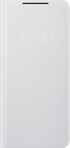 Samsung Galaxy S21 Ultra Led View Book Case Grijs Main Image