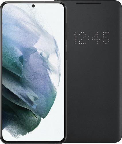 Samsung Galaxy S21 Plus 256GB Zwart 5G + Samsung Smart Led View Cover Zwart Main Image