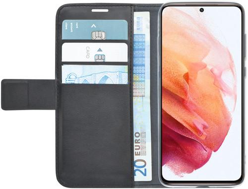 Azuri Wallet Samsung Galaxy S21 Book Case Zwart Main Image