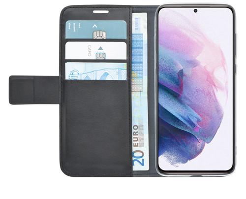 Azuri Wallet Samsung Galaxy S21 Plus Book Case Zwart Main Image