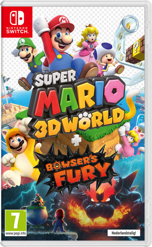 Super Mario 3D World + Bowser's Fury Main Image