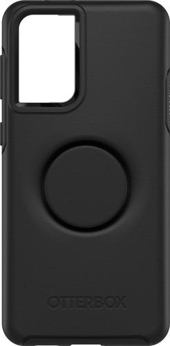 Otterbox Otter+Pop Symmetry Samsung Galaxy S21 Plus Back Cover Zwart Main Image