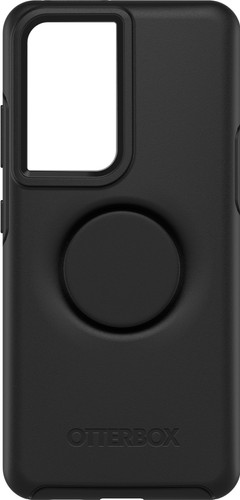 Otterbox Otter+Pop Symmetry Samsung Galaxy S21 Ultra Back Cover Zwart Main Image