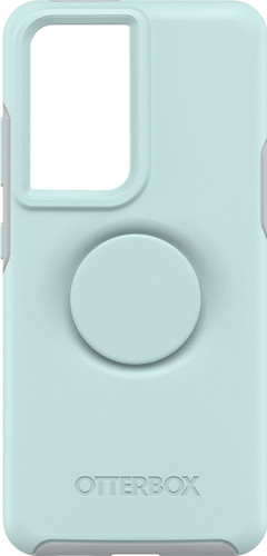 Otterbox Otter+Pop Symmetry Samsung Galaxy S21 Ultra Back Cover Blauw Main Image